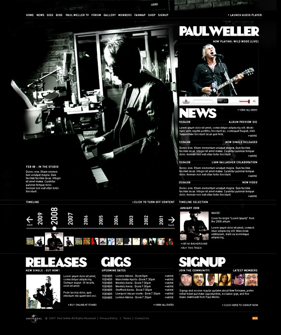 Paul Weller - Official Site